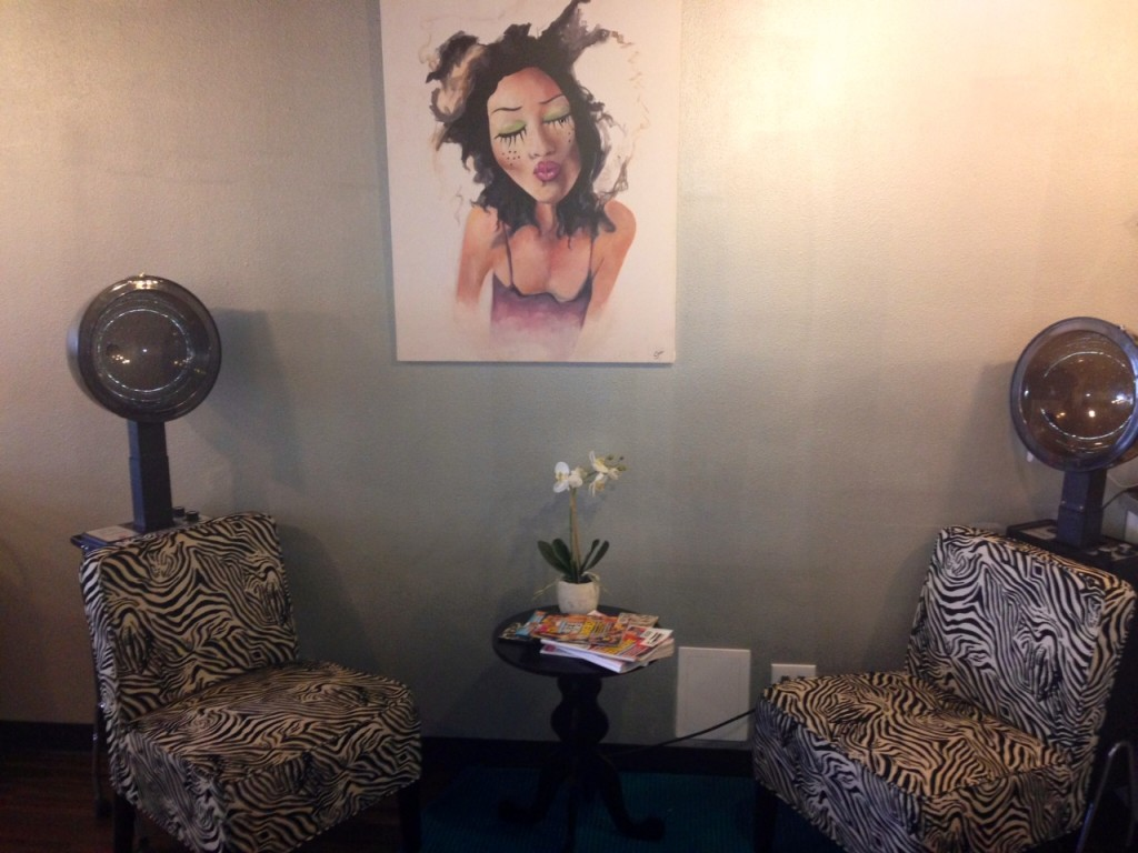 HALO SALON in Costa Mesa, CA is officially repping artbyjodi