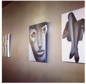 HALO Salon is officially covered in artbyjodi